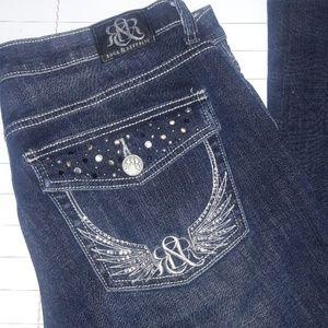 Rock & Republic  Studded Jeans Size 14